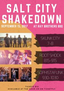 Salt City Shakedown Poster